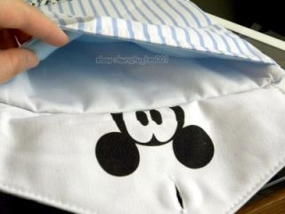Disney Mickey Mouse T Shirt Shape Tablet PC iPad eReader Document Case Bag