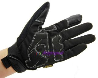 Mechanix Wear M Pact Full Finger Gloves Safety Tactical Glove Blue Black Red