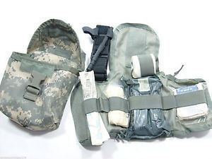 Army Digital ACU MOLLE IFAK Cat Tourniquet Bandage Improved First Aid Kit