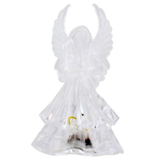 Color Changing Angel LED Light Night Lamp Christmas Decoration Gift HS