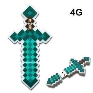 Premium 4GB Minecraft Diamond Sword USB Flash Drive Memory Stick 4 GB
