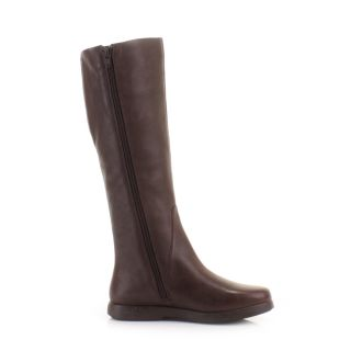 Camper Womens Knee High Boots Palmera Dry Kenia Brown Leather Flat Size 6 11