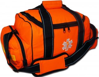 EMT EMS Medical Responder First Aid Medic Bag Large Trauma Jump Kit MB30 Orange