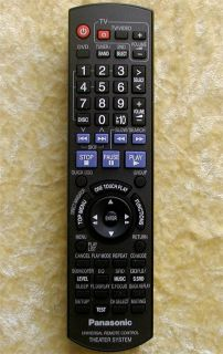 Panasonic Remote EUR7662YW0 for DVD Home Theater System