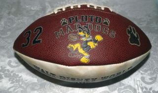 Walt Disney World All Century Football Mickey Mouse Steamboat Pluto Mad Dogs