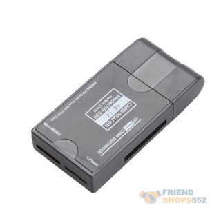 New USB 2 0 1 0 All in 1 T Flash Memory Card Reader Writer SD MS CF MMC XD Mini