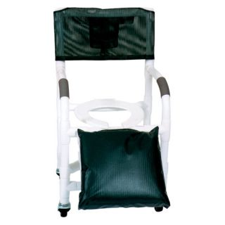 MJM International Standard Deluxe Shower Chair for Uni and Bi Lateral Amputee Individuals and Optional Accessories