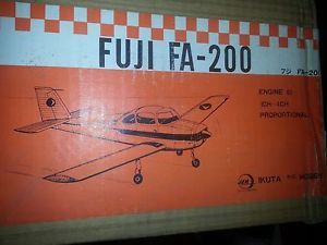 Vintage Wood Model Airplane Kit