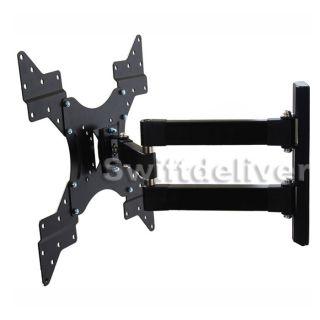 Full Motion LCD LED TV Wall Mount Bracket 22 24 26 27 32 37 39 40 42 46 47 50CXE