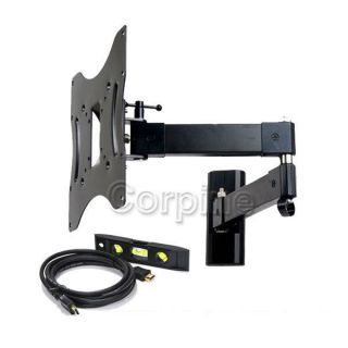 "Full Motion Wall Mount for Vizio Samsung LG Panasonic 32 39 40 42"" LED HD TV MK5"