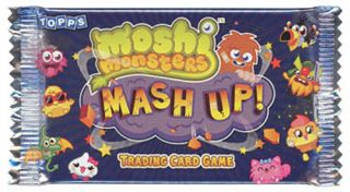 Topps Trading Card Game Moshi Monsters Mash Up Booster Pack New