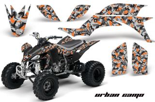 AMR Racing ATV Graphic Off Road Decal Quad Sticker Kit Yamaha YFZ 450 04 08 UCO