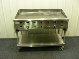 "Commercial US Range Griddle Grill Restaurant 48"" Gas"