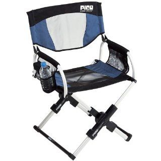Small Outdoor Pico Arm Chair Lightweight Camping Picnic Fishing Chair Midnight