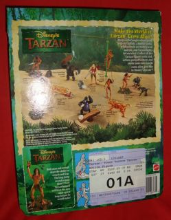 Disney Tarzan Power Pounce Tarzan Action Figure