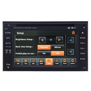 07 10 Nissan QASHQAI Car GPS Navigation Bluetooth iPod Radio USB  TV DVD Unit