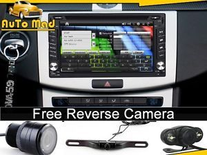 2 DIN Car Dash DVD GPS Navi Head Unit Stereos – Rear View Reverse Back Up Camera