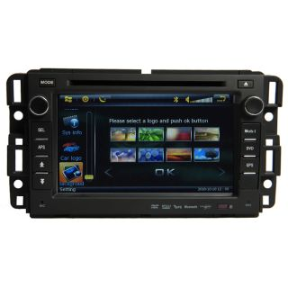 Car GPS Navigation Radio HD 7inch Touch Screen TV DVD Player for Chevrolet GMC