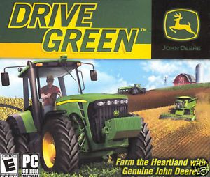 John Deere Drive Green PC Farming Simulator Game Brand New Factory SEALED JC