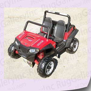 Peg Perego Polaris Ranger RZR 900 ATV Battery Powered Kids Boys Ride on Car Toy