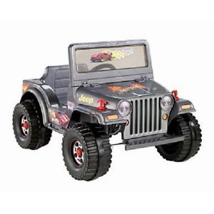 Power Wheels Hot Wheels Ride on Jeep Toy Motorized Kids Electric Car New