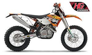 DHL Factory Replica Motocross Enduro Graphics Kit Stickers Decals KTM SX SXF EXC