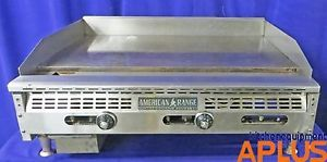 "American Range Gas Thermostatic Griddle Flat Grill 36"" Wide Model"