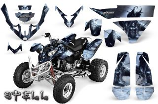 Polaris Predator 500 Graphics Kit Creatorx Decals Stickers Spell S