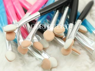 20 Pcs Beauty Makeup Cosmetics Eye Shadow Eyeliner Brush Sponge Applicator Tool