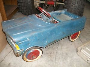 Cool Old Vintage Murray Kids Metal Pedal Car Toy Ride on Original
