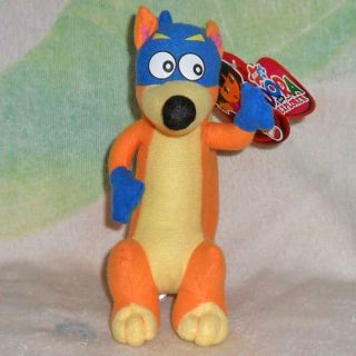 "Cute Dora The Explorer 8"" Swiper Fox Plush Doll Toy"
