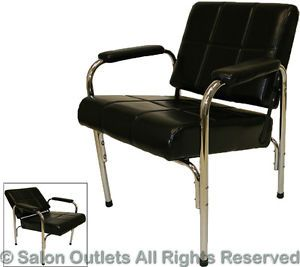 New Auto Reclining Black Shampoo Chair Recline Barber Beauty Spa Salon Equipment