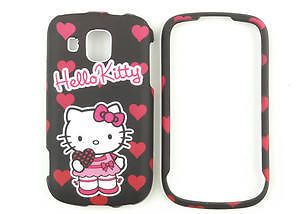 Hello Kitty Black Phone Case Hard Cover for Samsung Transform Ultra M930