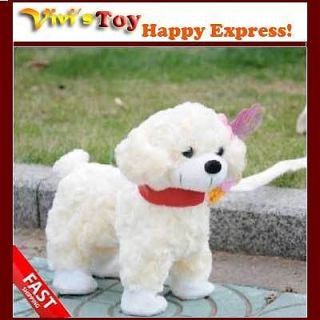 Brand New Plush Walking Singing Dancing Electronic Dog Toy for Children Kids