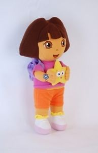 Dora The Explorer Kids Girls Soft Cuddly Stuffed Plush Toy Doll WT008