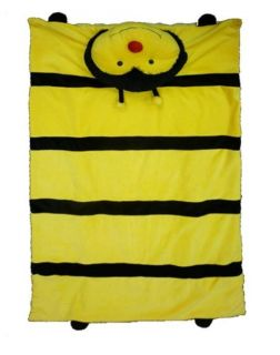 Cuddlee Pet Pillows Slumber Kids Baby Play Nap Mat Animal Blanket Bumble Bee