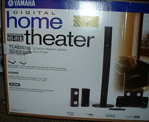 Yamaha YHT 491BL 5.1 Channel Home Theater System