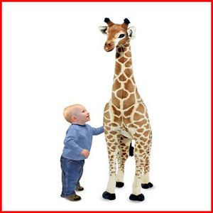 New Melissa Doug Giant Giraffe Plush for Kids Toy Large Soft Stuffed Animal