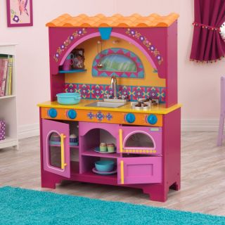 KidKraft Dora The Explorer Kids Pretend Play Kitchen Toy Set 53293