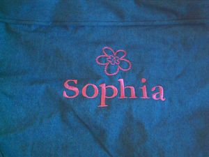 Pottery Barn Kids Anywhere Chair Cover Sophia Regular Denim New