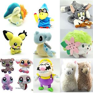 Kids Baby Soft Stuffed Dolls Plush Toys Christmas Birthday Gift Pokemon Pet Shop