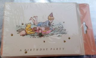 Winnie Pooh Classic Invitation Baby Shower Party Decoration 1st Birthday by Kids