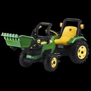 Kids John Deere Pedal Tractor with Loader New Peg Perego