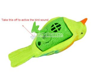 W3LE Hot Lovely Sound Voice Activate Sing Singing Natural Bird New Baby Kids Toy