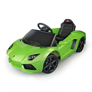 6V Kids Electric Car Lamborghini Aventador Power Ride on Toy Car Remote Control