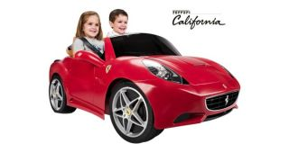 New Red 2 Seater Ferrari Kids Battery Powered Electric Ride on Sports Car Toy