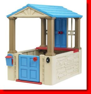 Kids Girls Pretend Play House Indoor Outdoor Toy Home House Childrens Cottage