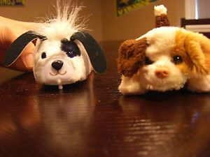 Set of 2 Fur Real Friends Puppy Puppies Dog Toys Kids Girl Boy Like ZUU ZUU Pets