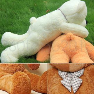 Hot Giant 80 Big Plush Teddy Bear Huge Soft 100 Cotton Toy Gift 3 Color