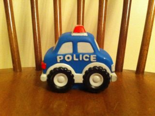 Baby's Things Brand Police Car Squeak Toy Cop Babies Kids Toddler Pre Owned